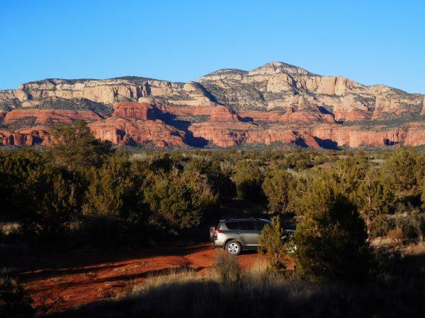 Free car camping near Sedona, AZ