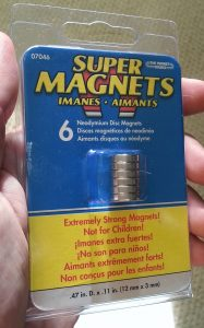 The magnets I use