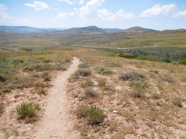 View from near the start of the Nature Trail
