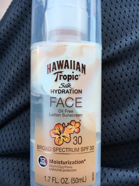 """The """"low yuck"""" sunscreen that Ted recommends."""