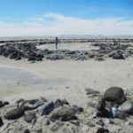 Out on the Spiral Jetty