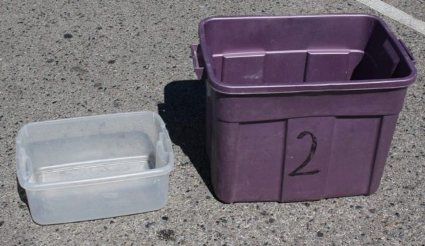 Stay calm and keep cool: conventional coolers leave your food swimming in meltwater before you've even made it out of the parking lot. Solution: nest a small tub inside a large one. Insert ice, small tub, then food, and your perishables will stay cold and dry.