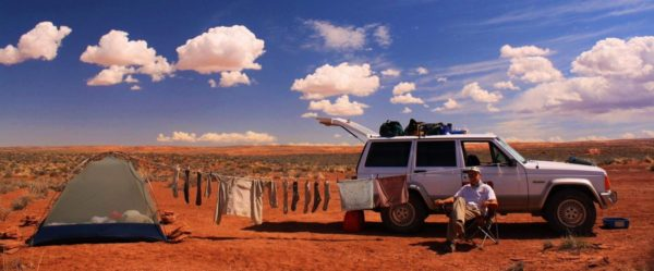 Chillin' with the laundry: Robber's Roost, Utah