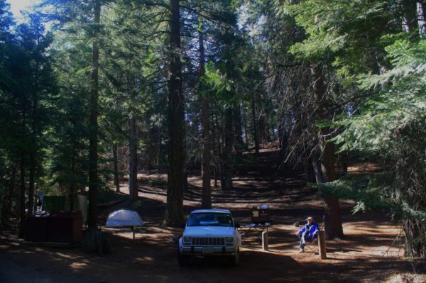 Another day in paradise: Atwell Mill Campground, Mineral King area, Sequoia National Park