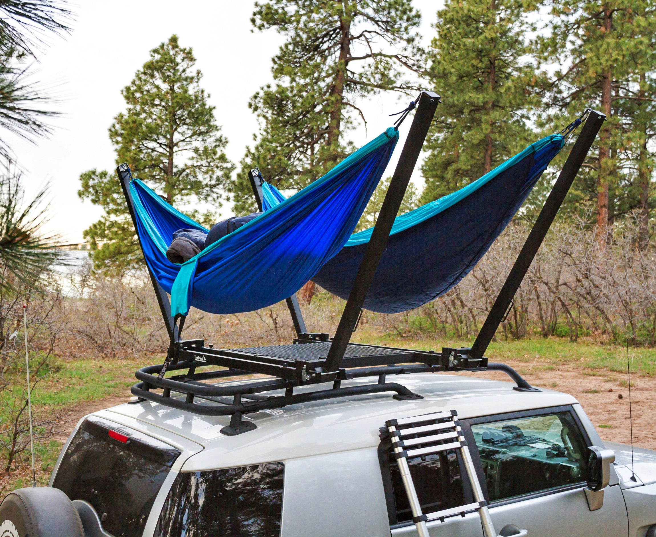 trailnest rooftop hammock stand more on roof top hammocks hitch hammocks and roof top tents      rh   suvrving