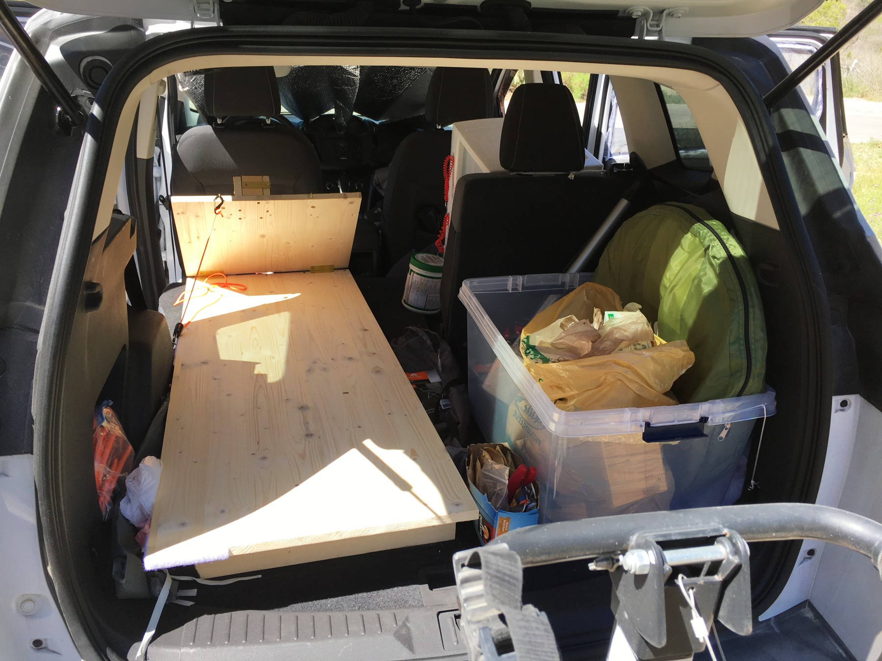 Sleeping And Camping In A 2015 Ford Escape Suv Rving