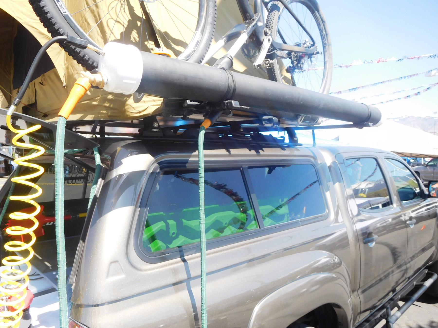 DIY PVC Rooftop Solar Shower for a Car, Van, SUV, or Truck – SUV RVing