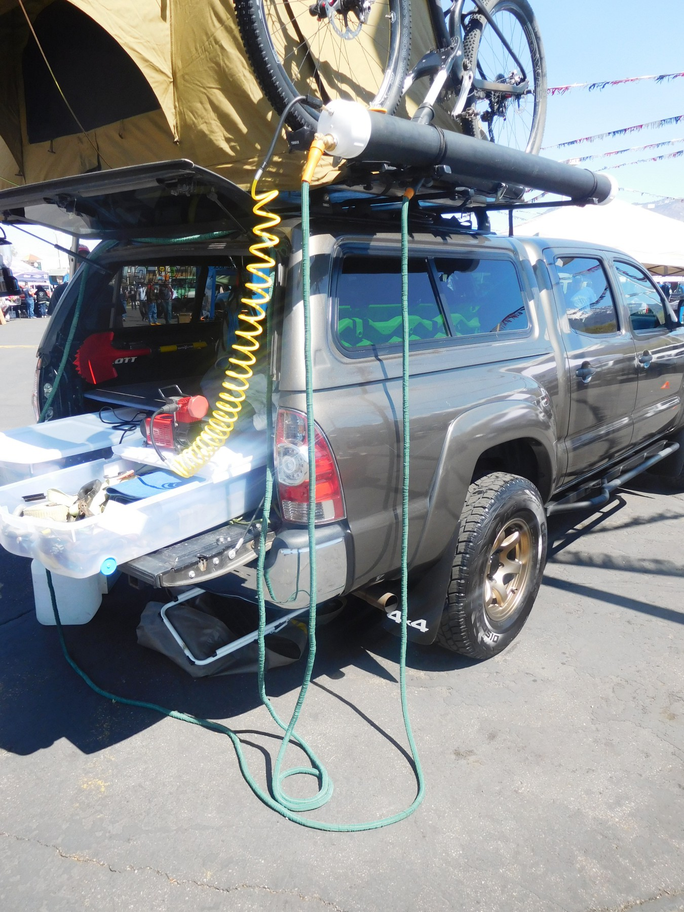 Diy Pvc Rooftop Solar Shower For A Car Van Suv Or Truck