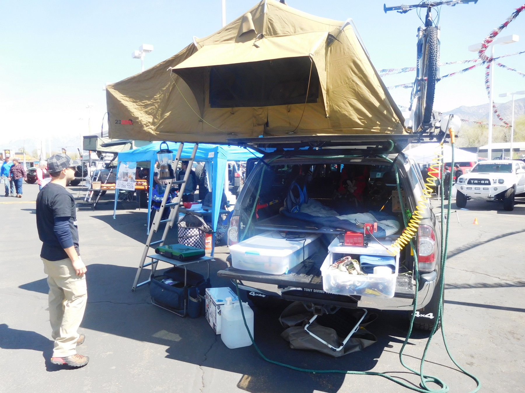 Diy Pvc Rooftop Solar Shower For A Car Van Suv Or Truck Suv Rving
