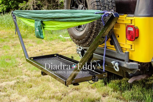 More Hitch Mounted Hammock Hanging Suv Rving