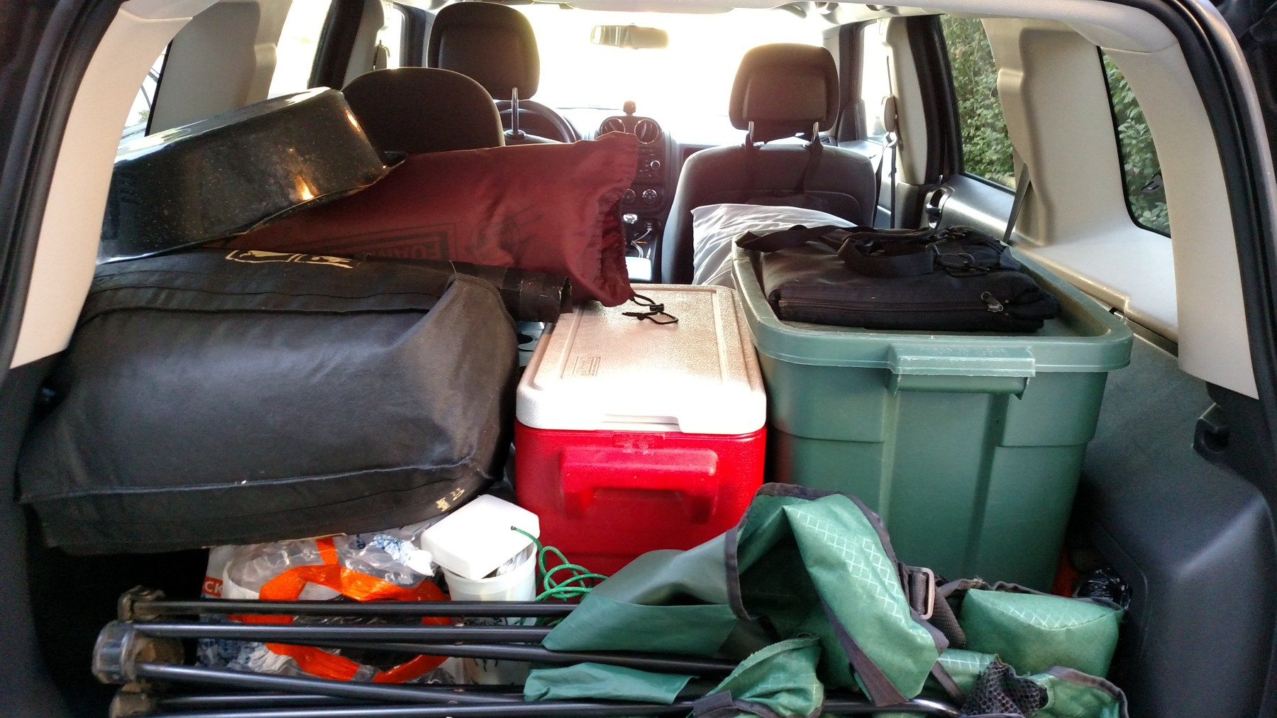 Jeep Patriot Camper >> Bill S Setup For Sleeping Camping In A Jeep Patriot Suv Rving