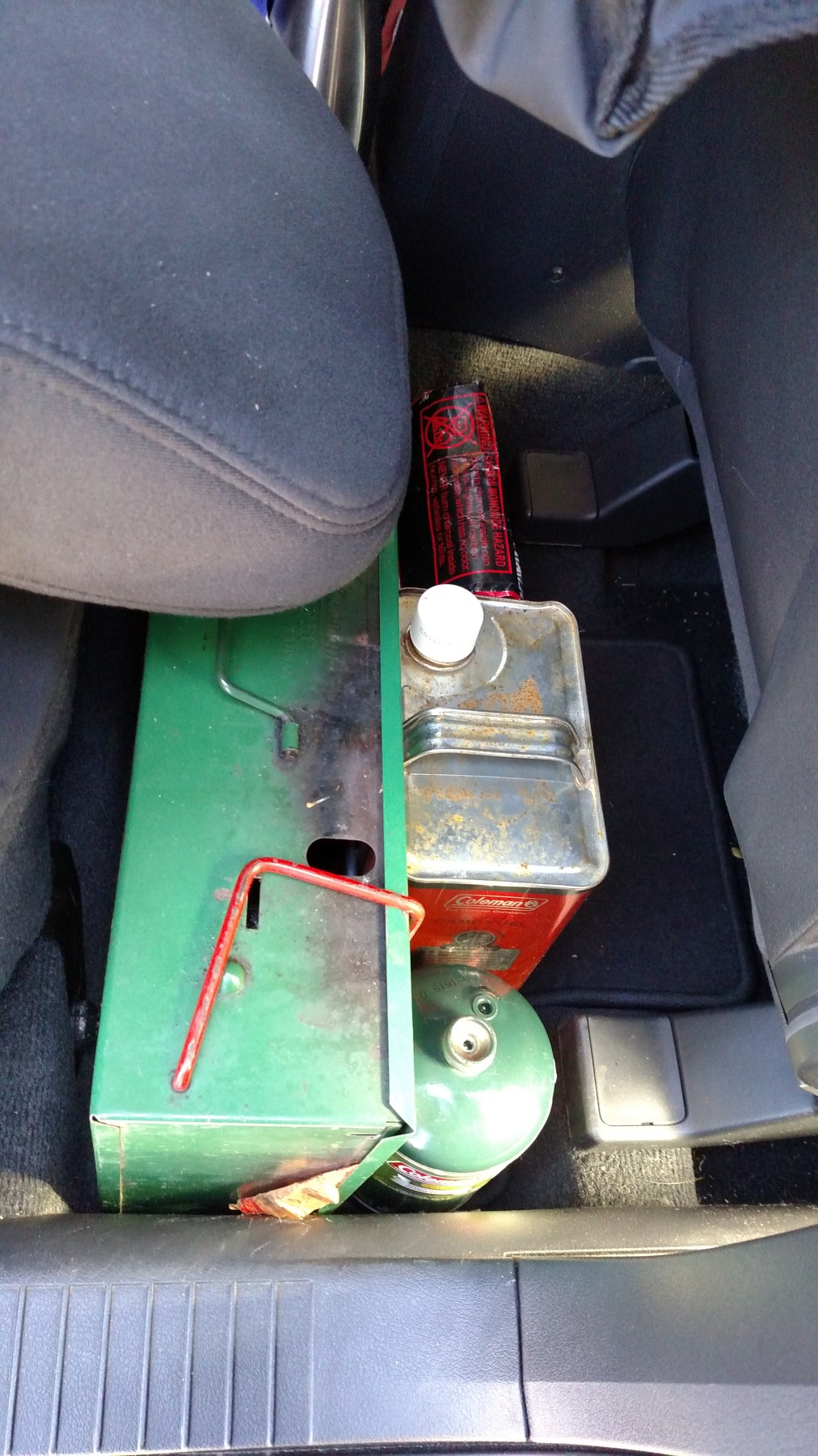 Bill S Setup For Sleeping Camping In A Jeep Patriot Suv Rving